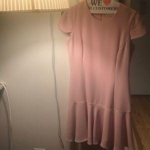 Amanda uprichard pink a line dress